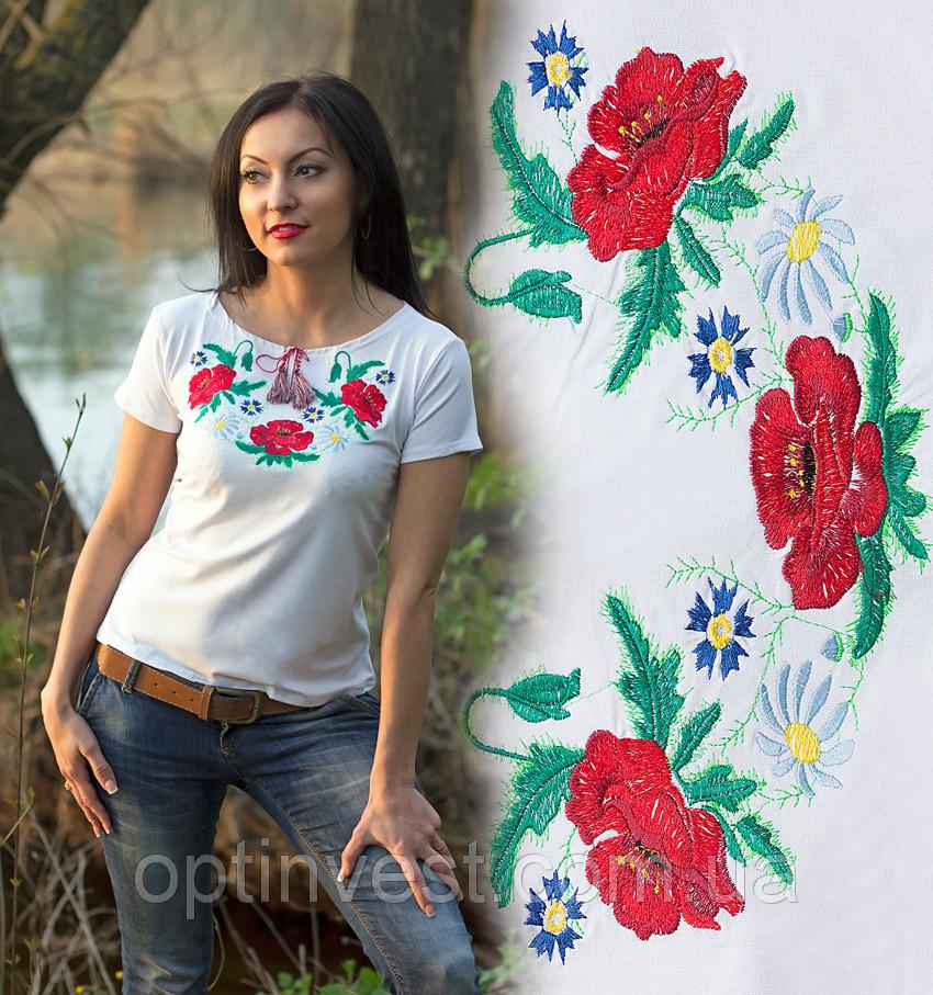Женская вышиванка футболка