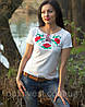 Женская вышиванка футболка, фото 3