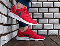 Красные Мужские Кроссовки Nike Roshe Run арт.1018, фото 1