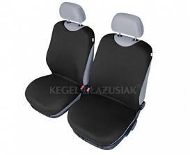 Майки на сиденья Kegel передние черные (2шт/комп)