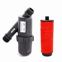 Фильтр дисковый для капельного полива 1732-D-120 , диаметр 1 дюйм, 2-3 куб. м/ч, давление 3 атм