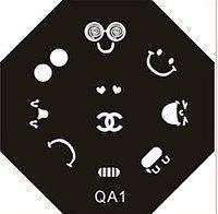 Диск для стемпинга (восьмигранник) QA-1