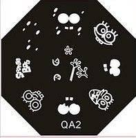 Диск для стемпинга (восьмигранник) QA-2