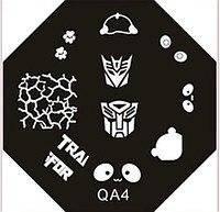 Диск для стемпинга (восьмигранник) QA-4