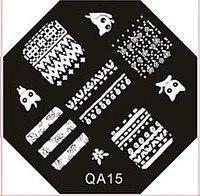 Диск для стемпинга (восьмигранник) QA-15