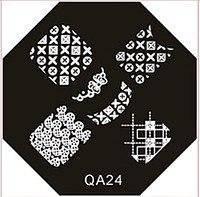Диск для стемпинга (восьмигранник) QA-24