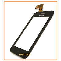 Сенсор (тачскрин) Sony ST21i Xperia Tipo Black Original