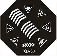 Диск для стемпинга (восьмигранник) QA-30