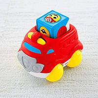 Пожарная машина с кубиком Fisher Price