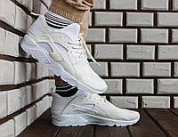 Белые Мужские Кроссовки Nike Huarache 2017 арт.1019, фото 1