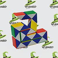 Головоломка Змейка рубика (36см) люкс