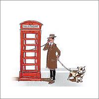 A1516\5009 | Декор Телефонная будка