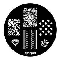 Диск для стемпинга Spring-01
