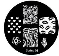 Диск для стемпинга Spring-02