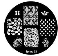Диск для стемпинга Spring-03