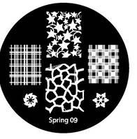 Диск для стемпинга Spring-09