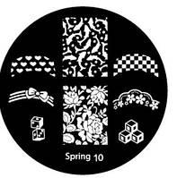 Диск для стемпинга Spring-10