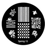 Диск для стемпинга Spring-11