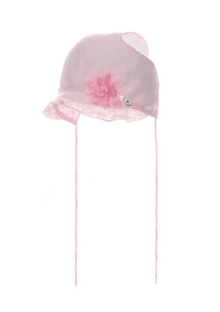 Дитяча шапочка на зав'язочках для дівчаток від Marika Польща