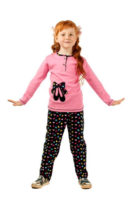 Пижамы для девочек от 2 лет до 6 лет