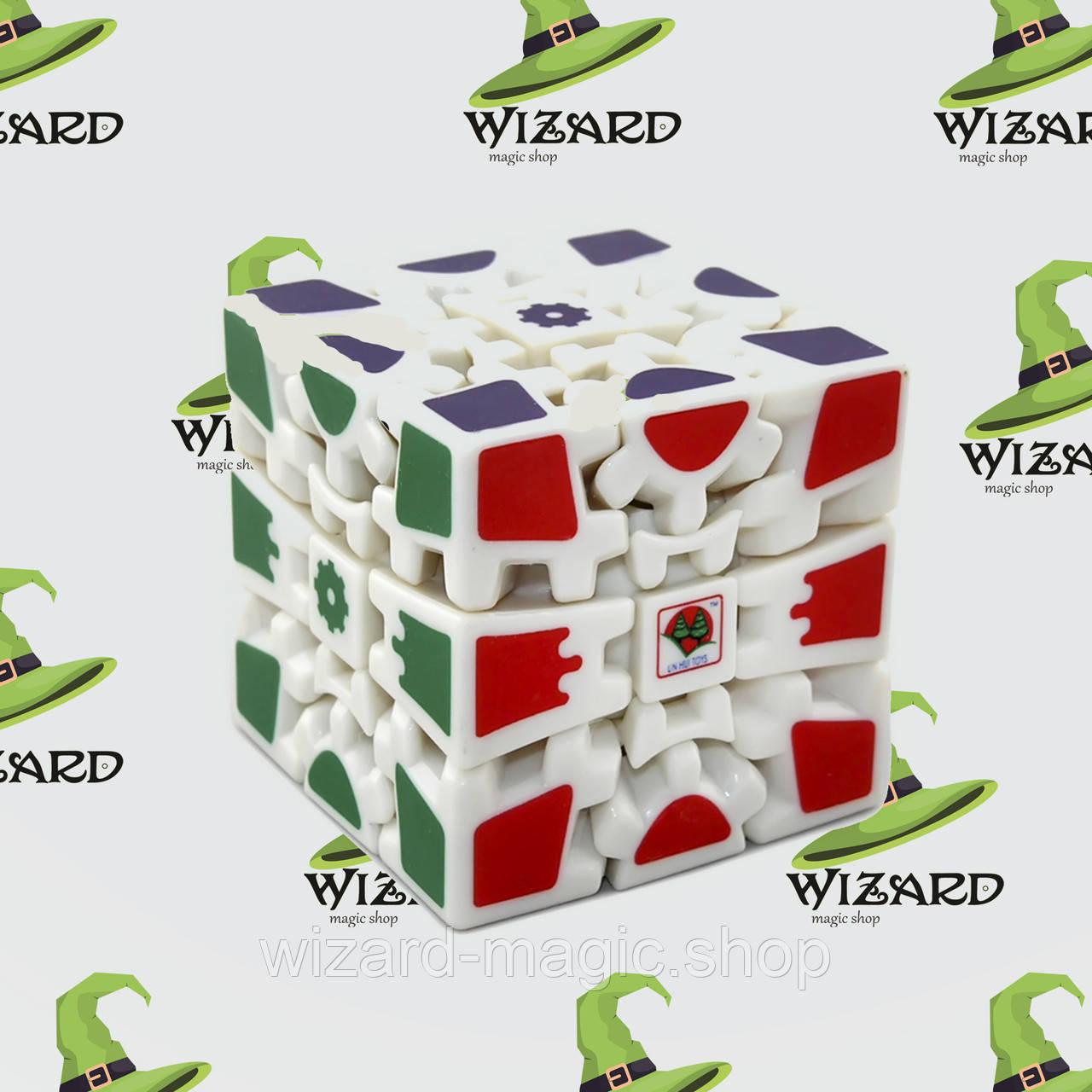 Кубик Рубика 3х3х3 на шарнирах белый