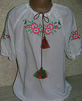 """Вышиванка для девочки """"Яблуневий цвіт"""" ( арт. BA7-151.6.0)"""