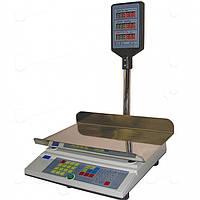 Весы торговые ПРОМПРИБОР ВТА-60\15-5-А-Ш c RS232 до 15 кг