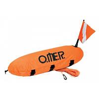 Буй для подводной охоты и дайвинга Omer Master Torpedo, в чехле омер мастер торпедо