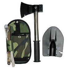 Лопатка туристична ніж-пилка сокиру 4 в1 v