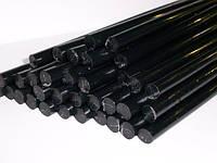Стержни для клеевого пистолета 7мм.  черные 1 кг.