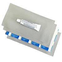 Ремкомплект для матрасов надувных 10114G латки 4шт серые Intex
