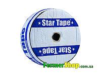 """Капельная лента """"Star Tape"""" 500 м, расстояние капельниц 10 см, 8mil - Украина"""