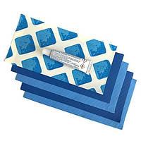 Ремкомплект для матрасов надувных 10114 латки 4шт синие Intex