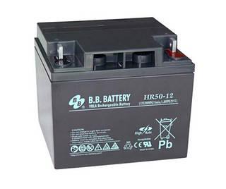 Аккумуляторная батарея B.B. Battery HR 50-12 (12V, 50 Ah)