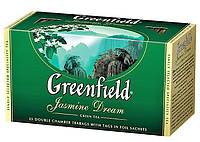 Чай  Greenfield Jasmine Dream пакетированный 25 пак.