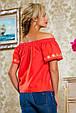 Блуза 2227 коралловый, фото 5