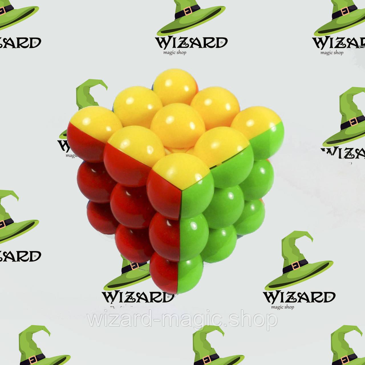 Кубик рубика из шариков