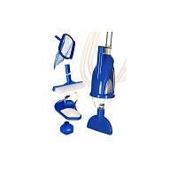 Набор для очистки бассейнов Intex, 28003 (58959) (швабра, щетка, сачек, насадки)