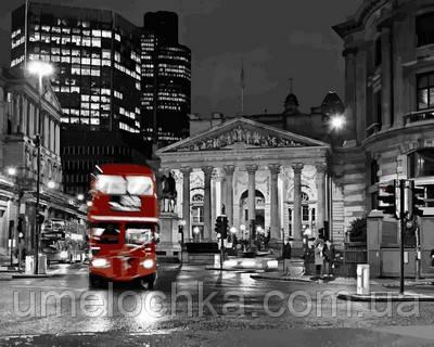 Картина-раскраска Турбо Ночной автобус (VP723) 40 х 50 см