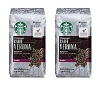 Кофе Starbucks Verona в зернах 340 г.