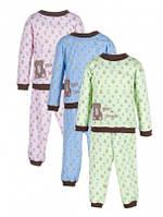 Пижама детская интерлок Берни, 74-98р, 2КП-352
