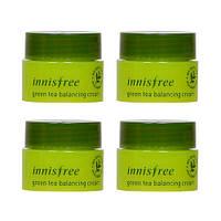 Крем для лица с экстрактом зеленого чая Innisfree Green Tea Balancing Cream, 5 мл