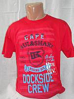 Мужская футболка тенниска Paul Shark пауль шарк Турция красная