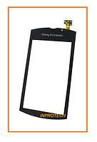 Сенсор (тачскрин) Sony Ericsson U8i Vivaz Pro Black Original