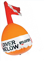 Буй для дайвинга и охоты Mares Standard Marker Марес Стандарт Маркер