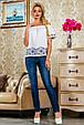 Блуза 2226 белый, фото 3
