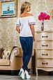 Блуза 2226 белый, фото 5