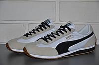 Мужские кроссовки Puma whirlwind (белые)