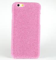 Чехол Shibaful с пушистым искусственным покрытием для iPhone 5/5s/SE