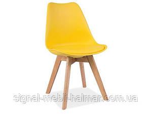 Купить кухонный стул Kris signal (желтый)